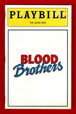"Stephanie Lawrence ""BLOOD BROTHERS"" Con O'Neill 1993 Opening Night Playbill"