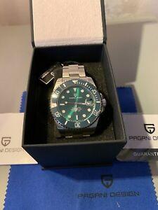 Pagani Design PD1639 Automatic Wristwatch NEW Unworn
