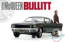 1:18 Bullitt 1968 Ford Mustang Gt Fastback Highland with Steve Mcqueen