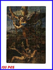 Raphael - St. Michael Vanquishing Satan Art - 120 Piece Jigsaw Puzzle