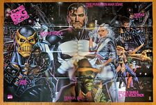 """Marvel The Big Guns Comic Store Promo Poster 1992 50""""x24"""" Punisher Nomad Cage"""
