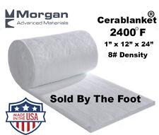 Ceramic Fiber Insulation Blanket Wool High 2400f Thermal Ceramics 1x12x24 8