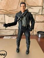 "7"" Terminator 2 Action Figure T-800 Cyberdyne Showdown Figure Toy No Box"