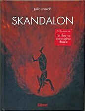 """Album BD EO """"SKANDALON"""" de JULIE MAROH (Le bleu est une couleur chaude) - TBE"""