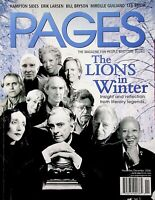 PAGES Magazine November / December 2006 D7B0811