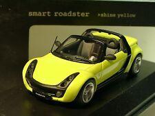 Minichamps Smart Roadster, Shine YELLOW - 1/43 - v001c11q00