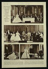 Margherita Carosio San Carlo Opera Covent Garden Debut 1946 1 Page Photo Article