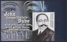 SOUTH AFRICA - 2012 John Dube 1st Pres. of SA Native Nat. Congress m/sheet (MNH)