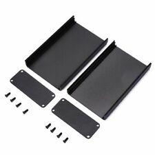 Black Aluminum Pcb Instrument Box Extruded Enclosure Diy Electronic Project Case