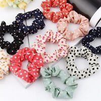 50pcs New Girls elastic hair ties Scrunchie Ponytail Holder Hair Accessories