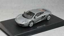Autoart McLaren MP4-12C 12C in Silver Grey Metallic 2011 56007 1/43 NEW