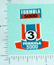 Superfast Matchbox #36 Formula 500 Sticker Set  SF-36C1