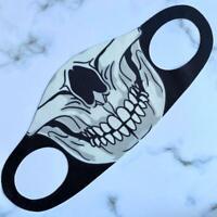 Maske Gesichtsmaske Wiederverwendbar Atemschutzmaske Totenkopf Neu