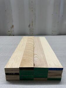 Ash Timber Offcuts- Hardwood - Natural Wood - 20 Length @ 48 X 10 X 400 mm Long