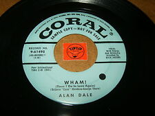 ALAN DALE - WHAM - ROCKIN THE CHA CHA  / LISTEN - LATIN ROCK POPCORN