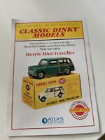 Atlas / Dinky Toys 197, Morris Mini-Traveller certificate of Authenticity, Mint.