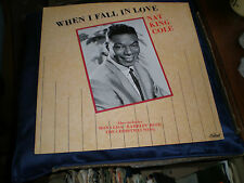 "NAT KING COLE - WHEN I FALL IN LOVE - 1987 CAPITOL LABEL 12"" EP - EXC."