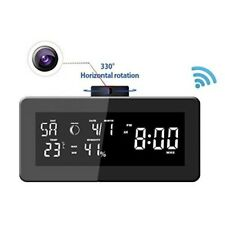 Hidden Spy Camera Wifi Wireless Clock 1080P Full HD Security Cam 330 Degrees New