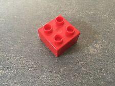 LEGO® Duplo Brick 2x2 3x 3437 Rot Red 2581 4180 2968 2838 10525 2438 5527 5609
