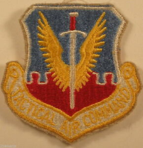 USAF Air Force Tactical Air Command TAC Insignia Badge Patch Full Colored