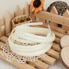 Accessoires de coiffure bandeaux ivoire pour femme