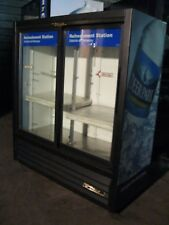 true gdm41 sl 54 double door commercial beersoda cooler merchandiser - Beer Merchandiser