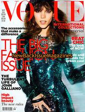 UK Vogue 9/11,Freja Beha Erichsen,September 2011,NEW
