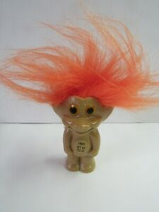 Vintage 1992 Troll Doll Candy Container Sealed Orange Hair