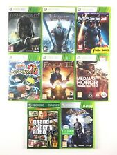 Lot 8 Jeux Xbox 360 Dishonored Mass Effect 3 GTA 4 Batman Naruto Fable III...
