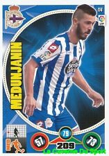 114 HARIS MEDUNJANIN BOSNIA RC.DEPORTIVO CARD ADRENALYN 2015 PANINI