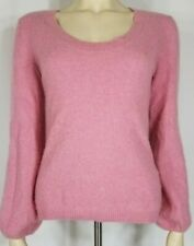 Old Navy pink 100% Cashmere scoop neck pullover sweater ladies juniors Large