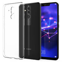 Huawei Mate 20 Lite Case Crystal Clear Transparent Best Silicone TPU Phone Cover