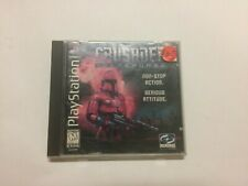Crusader: No Remorse (Sony PlayStation 1, 1996) CIB!! RARE!!