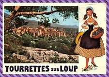 Postcard - TOURETTES on WOLF - View general