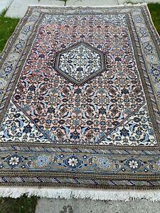 antico-swiss Beautiful Antique IndoARDEBILI  rug  6`8 x 10`1 ft
