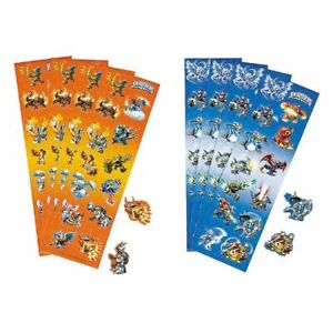 SKYLANDERS STICKERS FAVORS FAVOURS PARTY SUPPLIES 8 STRIPS