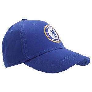 Chelsea FC Adult Official Core Baseball Cap - Royal
