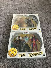 Marvel Legends X-Men Storm & Thunderbird And Old Man Logan And Hawkeye Lot (New)