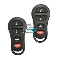 2 For 2002 2003 2004 Jeep Liberty Keyless Entry Key Car Remote Fob GQ43VTI7T