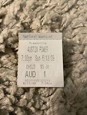 Austin Powers Spy Who Shagged Me Original Movie Ticket Stub Mann National 1999