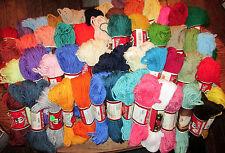 Vintage Aunt Lydia's Heavy Rug Yarn 60 Yard Skeins -Polyester - 50 Colors