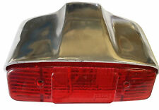 ukscooters LAMBRETTA ALLOY POLISHED LI SERIES 1 AND 2 COMPLETE REAR LIGHT UNIT
