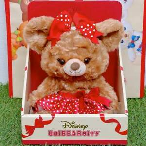 Disney Store Japan Pudding Plush Toy (S) UniBEARsity 10th Anniversary Limited