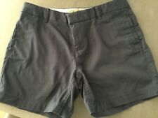 FAT FACE LADIES PADSTOW CHINO SHORTS NAVY SIZE 12
