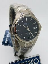 Pulsar PG8 027 SEIKO Titanium Quartz Mineral Glass Wristwatch