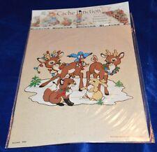 Seitec Cache Junction Reindeer Iron on Scrapbook or Fabric Embellishments