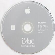 Apple iMac G3 DV DVSE Summer 2000 PowerMac2,2 Install Disc OS 9.0.4 Z691-2629-A
