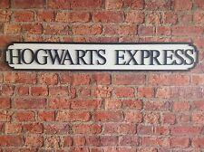 VINTAGE Wood Street Sign Hogwarts Express