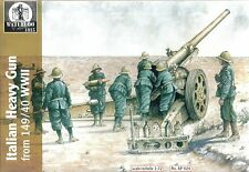 Waterloo 1/72 seconda guerra mondiale italiano 149/40 HEAVY GUN & Crew