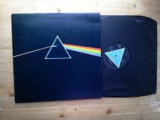 Pink Floyd Dark Side Of The Moon A2/B2 Solid Triangle EX Vinyl Record SHVL 804